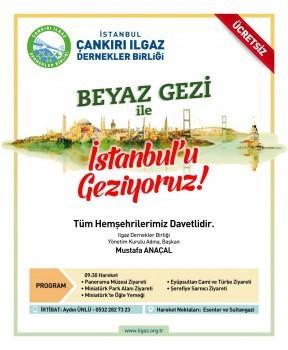 BEYAZ GEZİ İLE İSTANBUL'U GEZİYORUZ