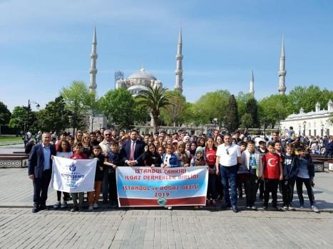 Birliğimiz Olarak  İBB'nin  Katkılarıyla Ilgazlı genç Öğrencilerimize İstanbul Gezisi..